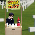 Kid teleporting you to a cemetary