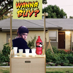 Kid on the corner selling soda
